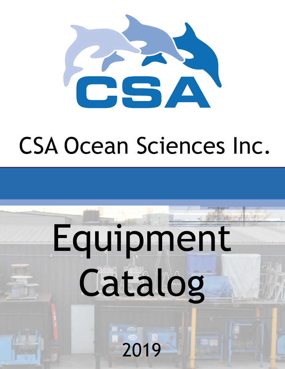CSA Ocean Sciences Publishes Global Equipment Catalog