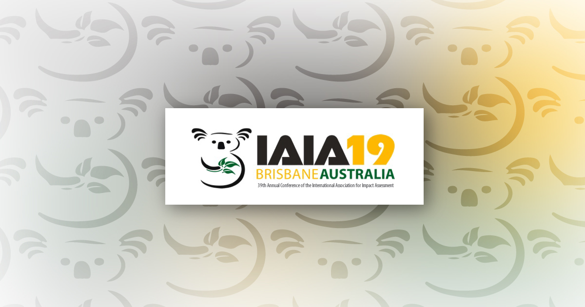 CSA Scientists Attend the 2019 IAIA Conference
