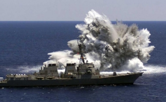 Environmental Services for Navy Underwater Explosive Testing