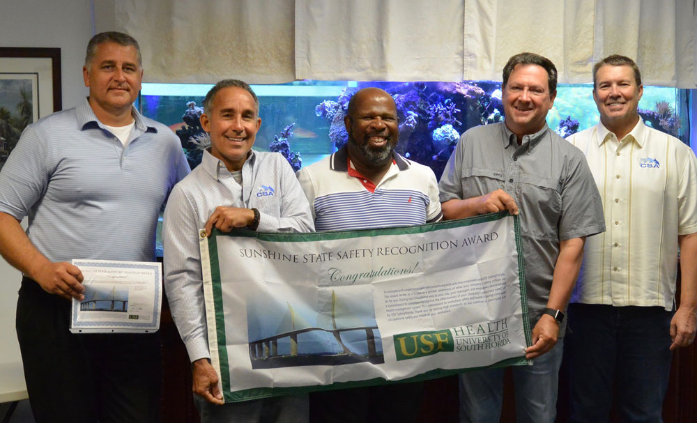 CSA Receives the Sunshine State Safety Recognition Award
